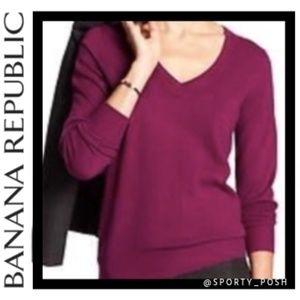 Banana Republic 100% Fine Merino Wool Sweater